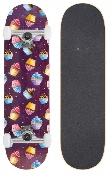 BTFL CUPCAKES - Skateboard komplett