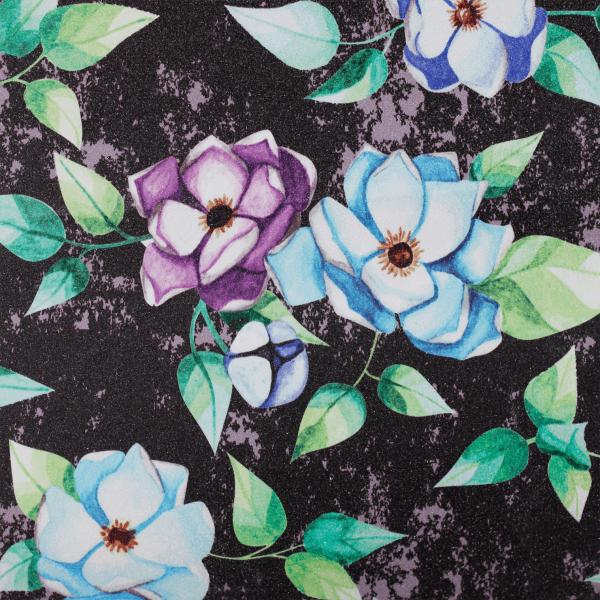 BTFL FLOWERS - printed griptape for longboards