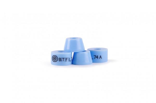 BTFL bushings set - supersoft 74A - blue