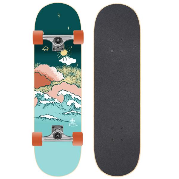 BTFL MARVIN - skateboard cruiser complete